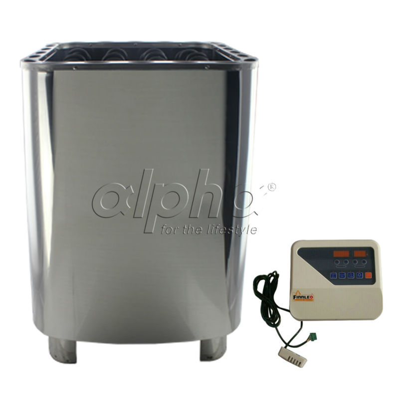 Free shipping12KW380-413V 50HZ  SUS sauna heater with DIGITAL controller  comply with the CE standard