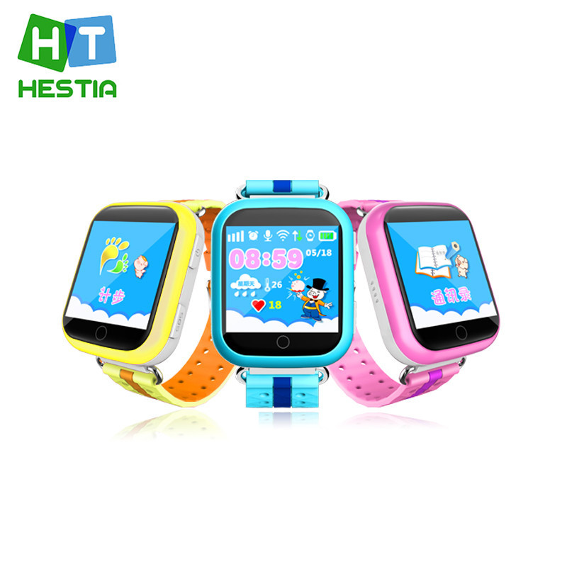HESTIA GPS Smart Watch Q750 Baby Watch Children Security Anti Lost with Wifi SOS Call racker for Kid Safe PK smart watch Q50 Q60 wireless service call bell system popular in restaurant ce passed 433 92mhz full equipment watch pager 1 watch 7 call button