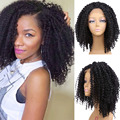 Cheap Silk Bace Frontal Wig  Lace Front Wig Kinky Curly Afro Wig  Lace Frontal Wigs For Black Women Silk Frontal Closure