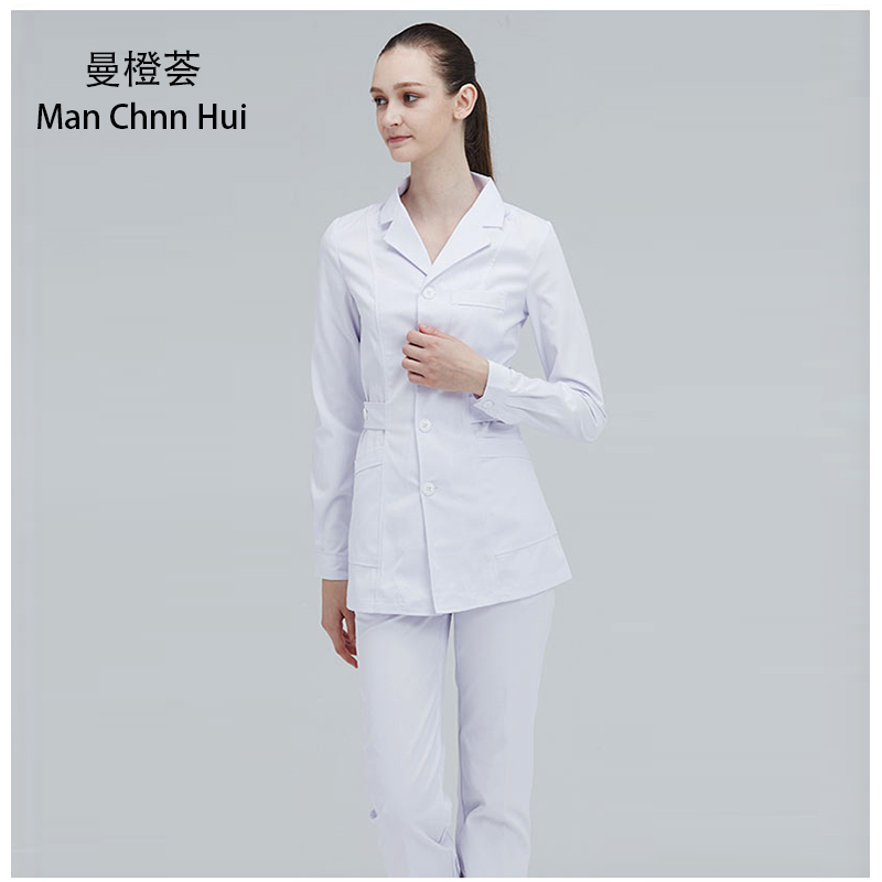 Women Nurse's Suit Medical Clothing Hospital Scrub Suits Doctors Uniform  Beauty Salon Female Coat+Pants Medical Work Clothes