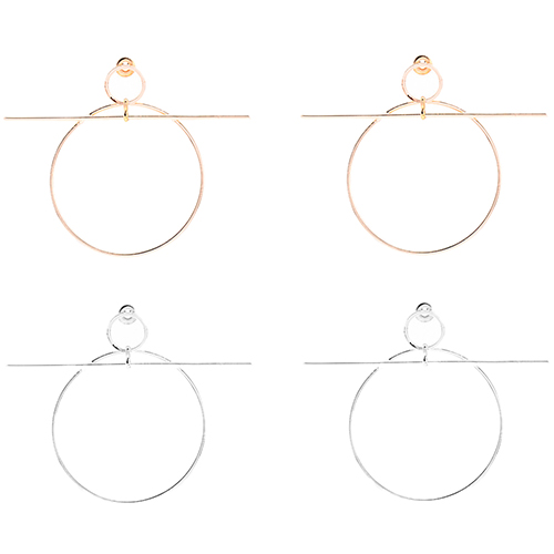 fbbc577986e20 New Arrival Women's Statement Circle Mini Stick Piercing Jewelry Charms-in  Stud Earrings from Jewelry & Accessories on Aliexpress.com | Alibaba Group
