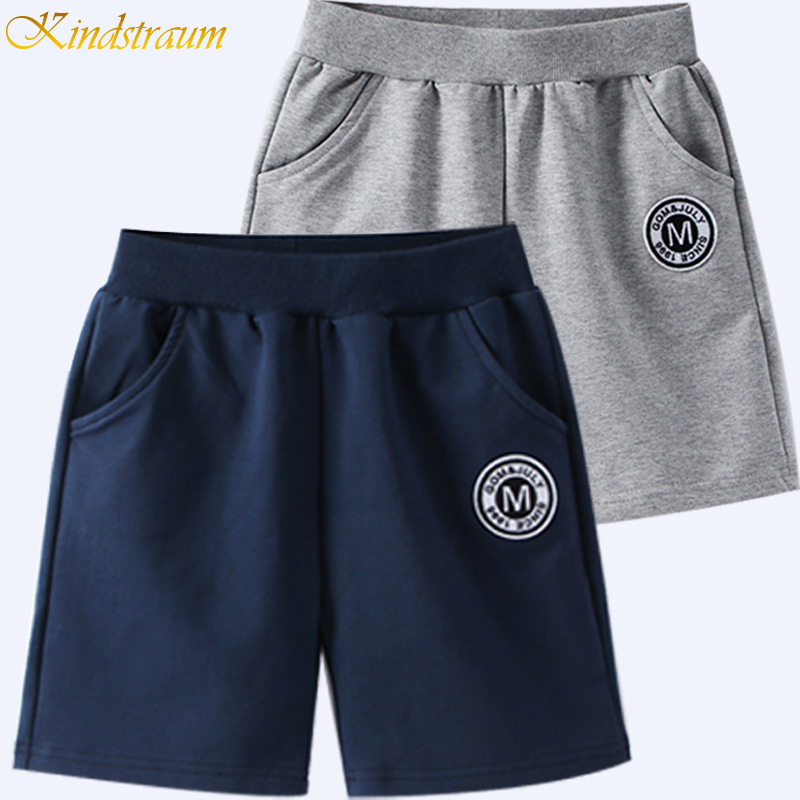 2019 Boys   Shorts   Hot Sale solid colors Kids Boy   Short   Pants Children Pants for baby boys summer beach loose   shorts   For Boy DC110