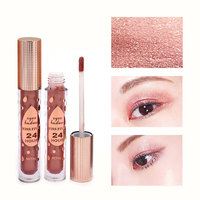 12PCS Waterproof Glitter Eyeshadow Makeup Cosmetic Set For Girls Lote De Maquillaje De Hojos Long lasting Liquid Eye Shadow