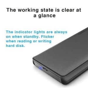 "Image 2 - Hard Drive Enclosure, Portatile Box HDD SATA a USB 3.0 Adattatore per 2.5 ""External SSD HDD Caso"