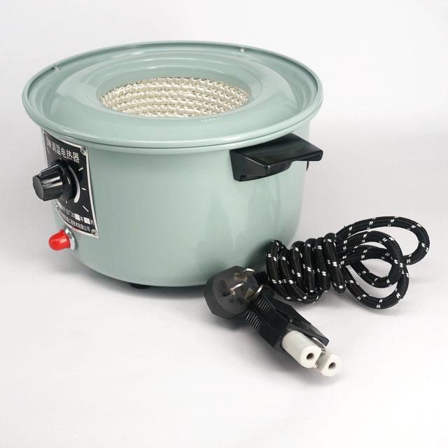 זול 500ml 300W גבוהה באיכות מעבדה חשמלי חימום מנטל עם תרמית רגולטור מתכוונן לצייד 220V