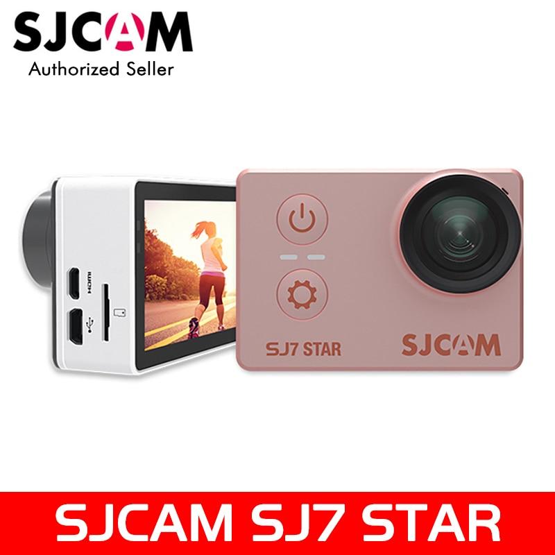 Original Package SJCAM SJ7 Star 4K 30fps Ultra HD Action Camera Ambarella A12S75 2.0 Touch Screen Waterproof Remote Sport DV