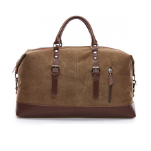 ФОТО new 2017 men's vintage military canvas men travel bags luggage bags men duffel bag travel large bag male business trip totes