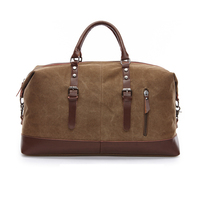 New 2017 Men S Vintage Military Canvas Men Travel Bags Luggage Bags Men Duffel Bag Travel