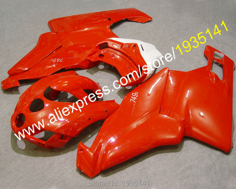Hot Sales,customized Motorbike kit For Ducati 999 749R 2005 2006 Ducati 749s 999R 05 06 ABS Fairing parts (Injection molding)