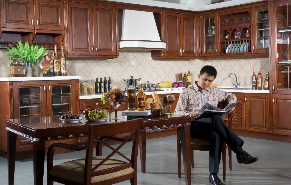 Online kaufen großhandel holz küchenschrank türen aus ...