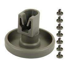 8 шт. пластиковая посудомоечная машина Нижняя корзина колеса ролик часть Аксессуар Ремонтный комплект 40 мм и xs