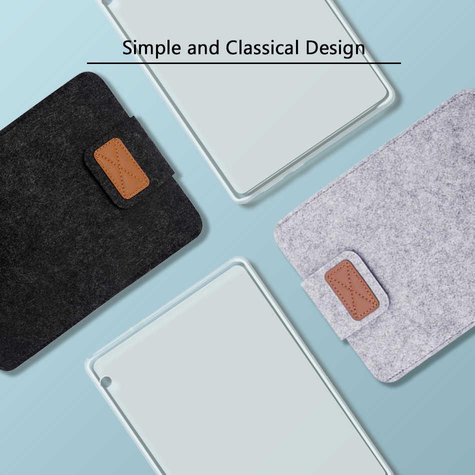 Lembut TPU Tab untuk Huawei MediaPad T3 T5 10 10.1 Media Pad T3 8 7 3G/WIFI KOB-L09 BG2-U01 BG2-W09 Tablet Silikon Cover Case