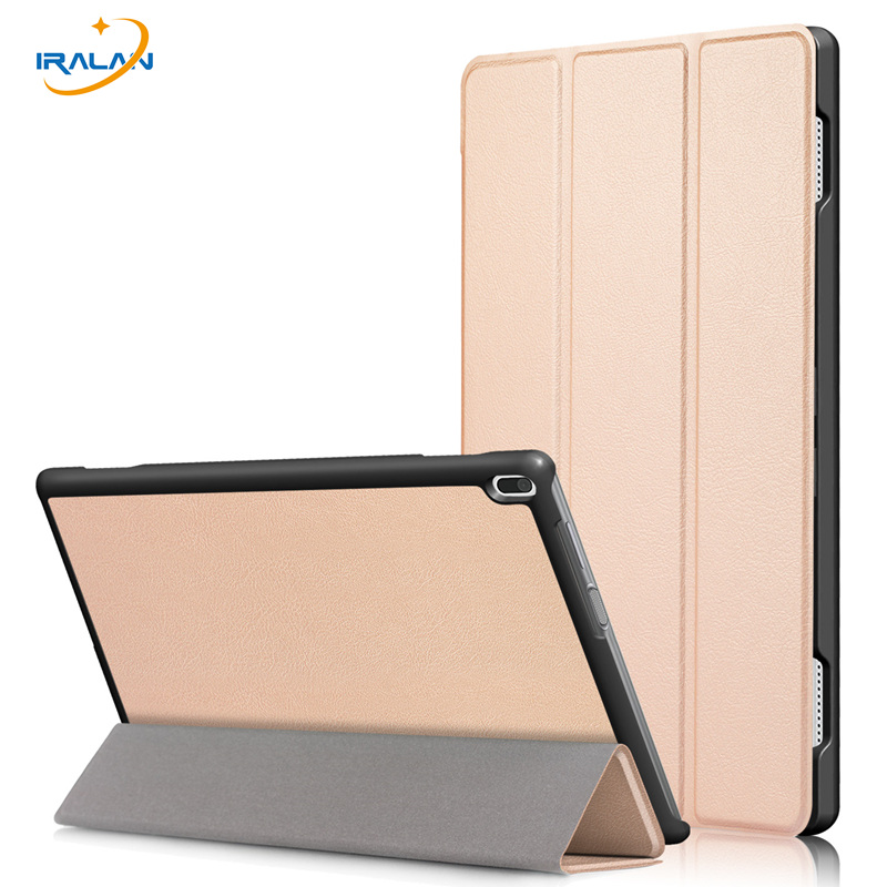 4 in 1 Folio Stand Leather Case for Lenovo TAB4 10 TB-X304F TB-X304N Flip Stand Tablet PU Leather Flip Case+Stylus pen+film+OTG for lenovo tab 2 a7 30 2015 tablet pc protective leather stand flip case cover for lenovo a7 30 screen protector stylus pen