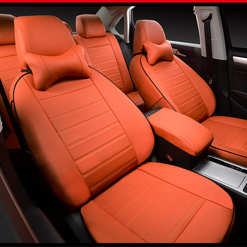 Leatherette custom car seat cover for Ford Escape Kuga seat covers set for cars seats cushion & Popular Seat Covers Ford Escape-Buy Cheap Seat Covers Ford Escape ... markmcfarlin.com