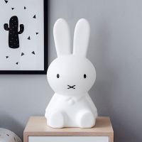 Thrisdar 50CM Rabbit Led Night Light Dimmable For Baby Kids Gift Animal Cartoon Desk Table Lamp