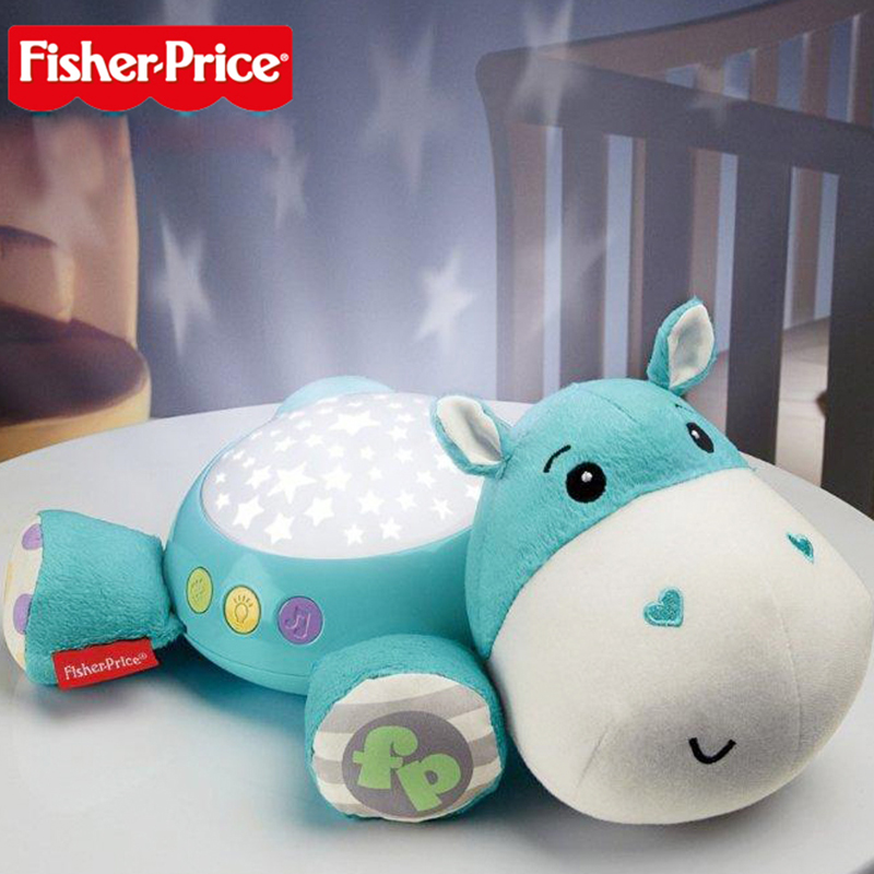 Toys For 0 12 Months : Fisher price plush projection soother led flashing