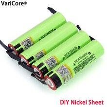 Liitokala nouvelle originale 18650 NCR18650B Rechargeable Li ion batterie 3.7V 3400mAh batteries bricolage Nickel