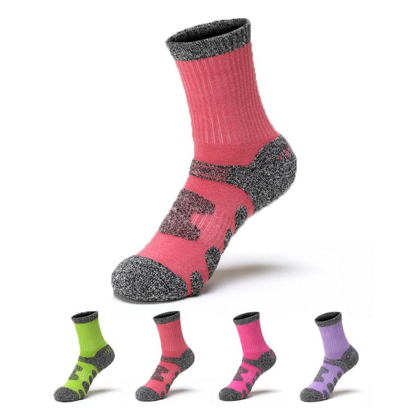 Professional Men Winter Hiking Sports Socks Cotton Skiing Thicken Bike Cycling Socks Ladies Running Football Socks fiets sokken