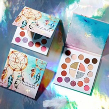 20 Colors Dreamy Eyeshadow Pallete Shimmer Matte Glitter EyeShadow Palette Pigment Makeup Cosmetic