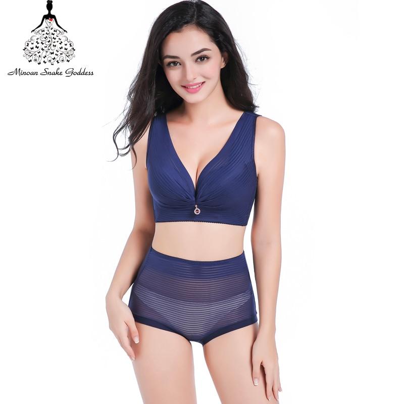 Plus Size Lingerie   Set     Bra     Set   Bralette Lace Underwear Women Sexy Push Up Women   Set   Big Size C D E 34-52 Cup   Bra   And Panty
