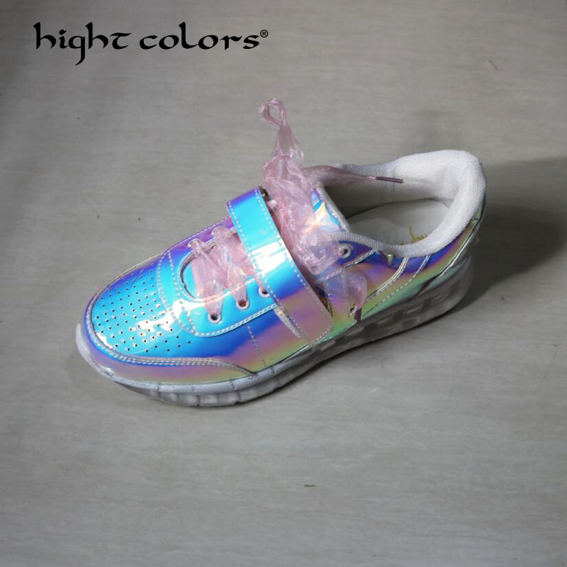 New 2018 Spring Autumn Brand Women Casual Shoes Silver Hologram Creepers Flat Heel shoes Fashion ladies Harajuku Platforms T-49