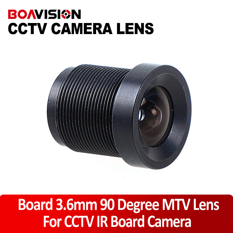 3.6mm lens CCTV Monofocal Fixed Iris Board Mount Lens / MTV Lens / CCTV Lens cs 8mm cctv camera lens fixed iris monofocal alloy with nail