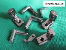 8mm T Slot L Shape Type Aluminum Profile Accessories Interior Corner Connector Joint Bracket for 3030 30*30SERIES