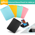 """Caso De Couro Do PLUTÔNIO Para Cube U81 Talk11 3g tablet pc 10.6 """"Tablet PC suporte Universal Suporte Luva Bag Bolsa para falar 11 + gift"""