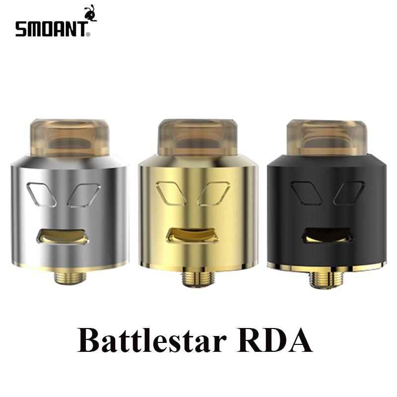 Original Smoant Battlestar RDA Tank Electronic Cigarette Atomizer Vape Box Mod Tank E Cigarette 510 Thread DIY Atomizer 013