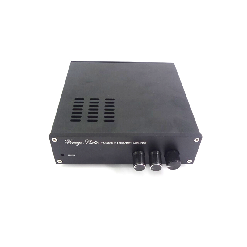 ФОТО Compact type 600w High Power TAS5630 2.1 digital stereo Subwoofer audio amplifier , bass 300W mini amplifier (Excluding power)