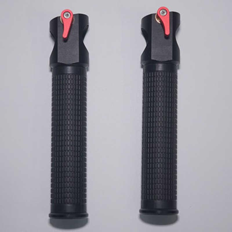 Dupla handheld cardan acessórios para zhiyun guindaste 2 mais extended lidar com apertos guiador montagem