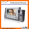 Fashionable luxury aluminum alloy IR camera with night Vision hands free intercom doorbell 7 inch color screen video door phone