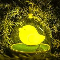 Novelty Intelligent Touch LED Birdcage Lamps sensor night lights gift For Kids Bedroom baby feeding lamp Desk table lamps