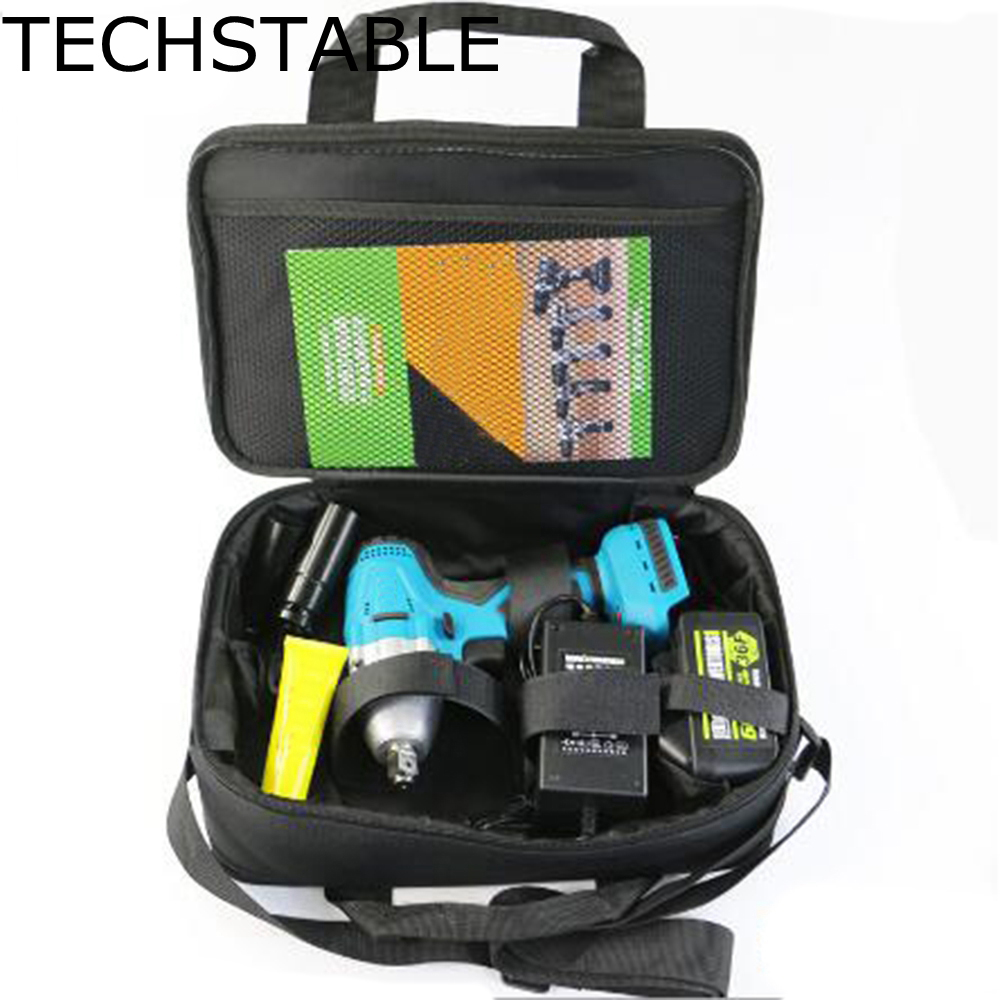 TECHSTABLE 6000 mAh 1 lithium battery Brushless Cordless electric wrench impact wrench rechargeable woodworking electric tools wosai 20v lithium battery max torque 380n m 4 0ah brushless electric impact wrench diy cordless drill cordless wrench