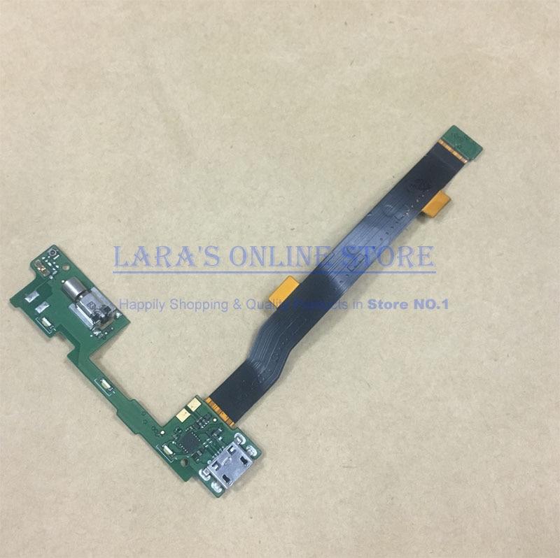 JEDX ORI pour Alcatel One Touch idol alpha 6032 6032A USB Chargeur Port de Charge Dock Connecteur Flex Câble W/Microphone vibrateur