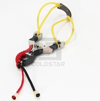 CS32044 NEW Portable Hunting Slingshot 304 Stainless Steel Catapult Hunting Outdoor Sports Competition Free Shipping