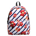 Preppy Style Floral Printing Canvas Backpacks Women Casual Daypacks Girls School Bags For Teenagers Travel Backpack sac a dos