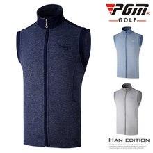 Pgm Новая одежда для гольфа мужская осенне зимняя теплая жилетка