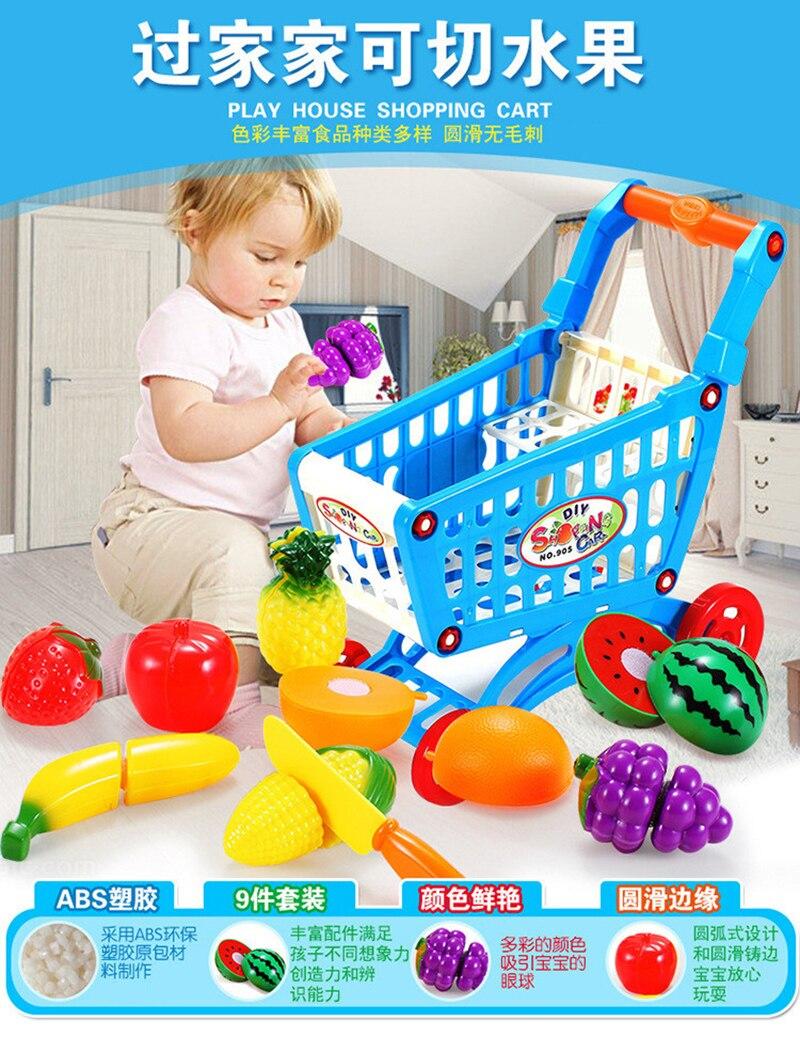 9 Pc Set Plastik Dapur Makanan Sayuran Buah Cutting Mainan Anak Ba 200b 2pin Kabel Xh254 20cm Berpura Pura Bermain Pendidikan Masak Cosplay A54