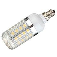 E12 5W Dimmable 36 SMD 5050 LED Corn Light Bulb Lamp Color Temperature Warm White 3000