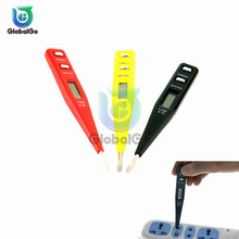 AC DC 12V-250V Voltage Tester Pen LCD Digital AC/DC Detector Continuity Detection Inductance Sensor