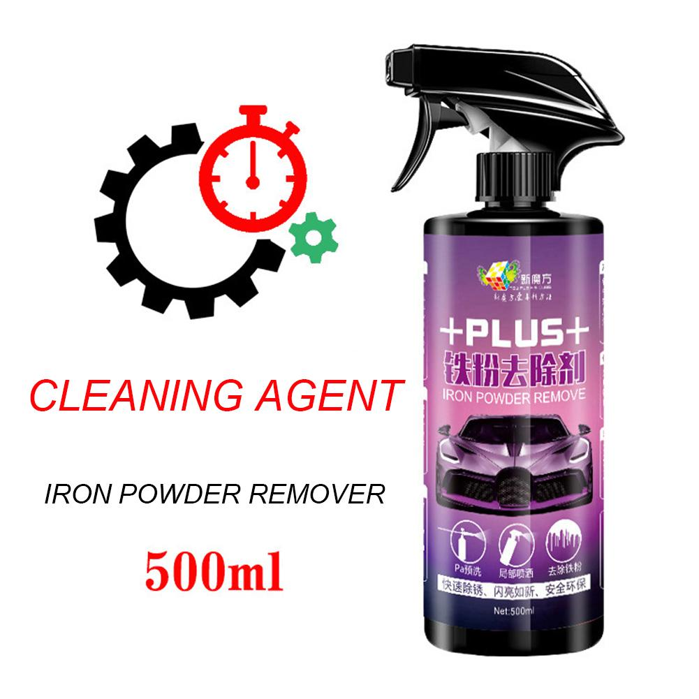 Image 4 - Car Wheel Paint Surface Iron Powder Remover Body Derusting Car Paint Rust Oxide Layer Cleaning Agent Decontamination Car Clean-in Spot Rust & Tar Spot Remover from Automobiles & Motorcycles