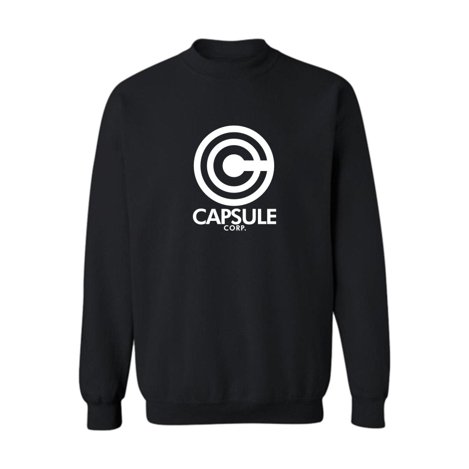 Dragon Ball Capsule Funny Print Hoodies Black Men Fashion And Hip Hop Style Cotton Sweatshirts Funny Luxury In Plus Size 4XL