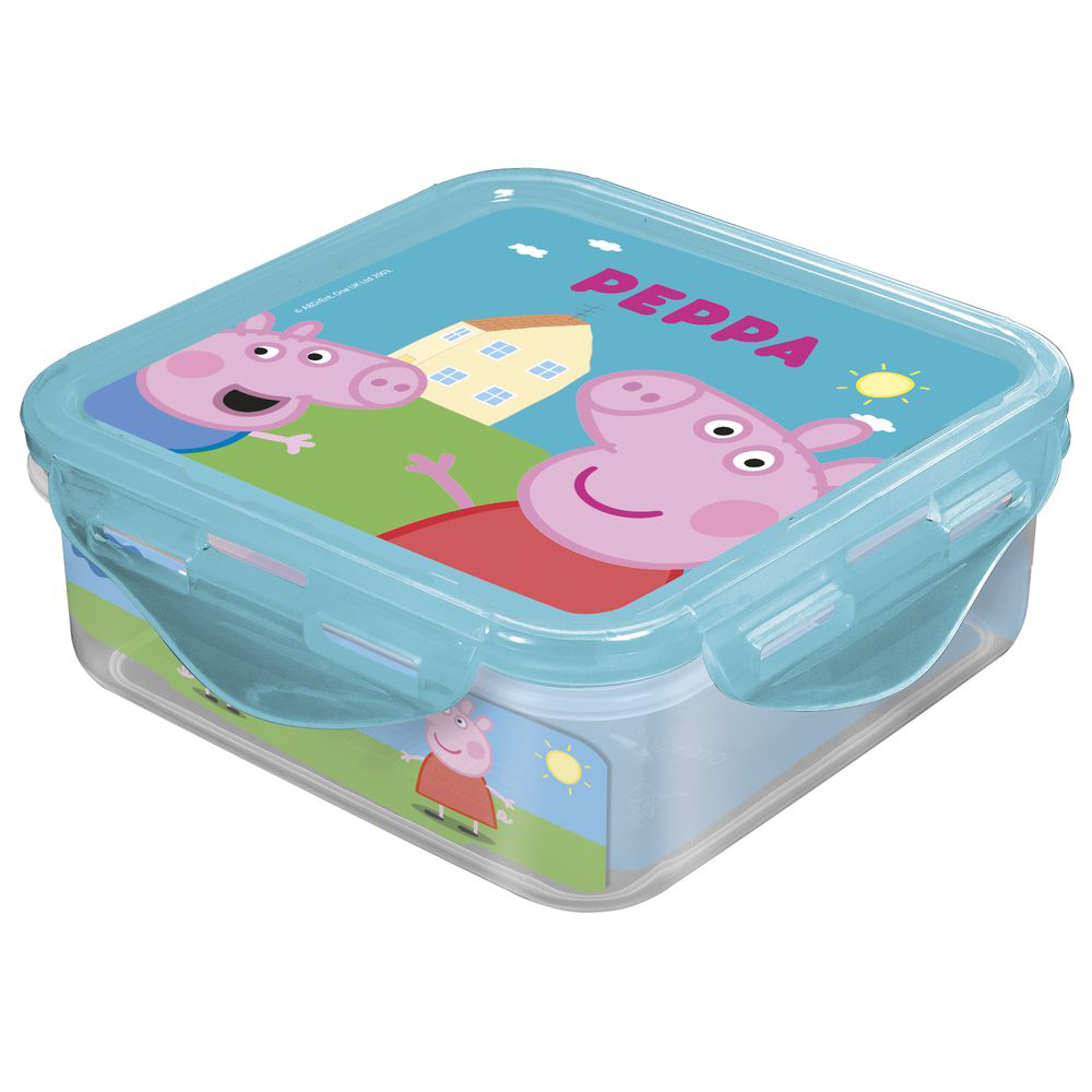 Baby Food Storage Stor 52860 Container Products for babies Bottles Newborn childrens tableware lunch-box Peppa Pig