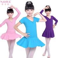 Hurtownie Młodych dzieci Taniec Sukienka Dziewczyny Bawełniana Sukienka W Lecie, Aby Wykonać Ballet Dress dla Babys Odzież