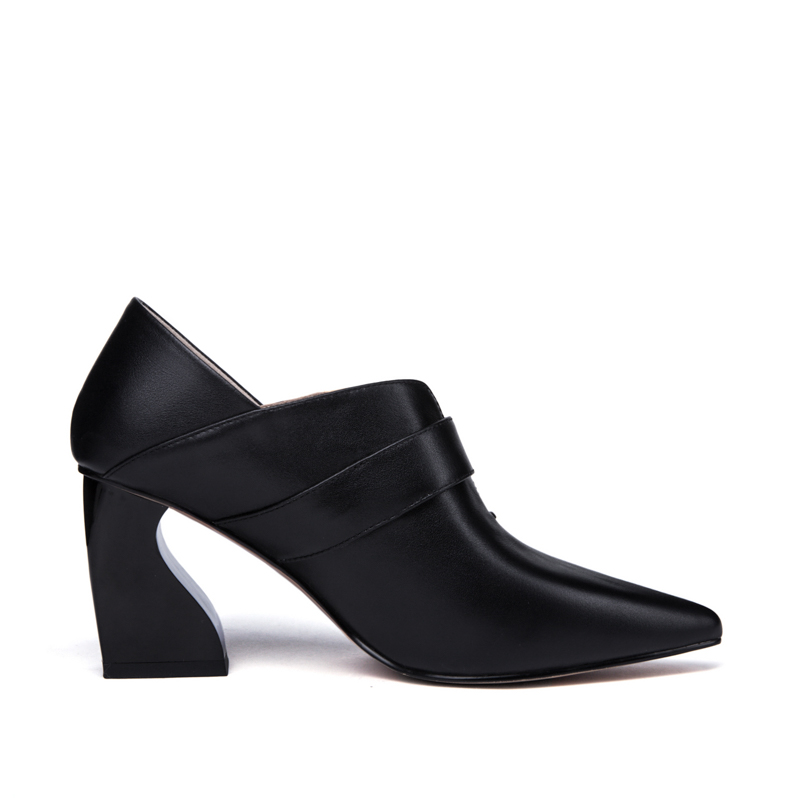 Beige En Femme Noir Classique Véritable 34 Talons Bureau noir La Printemps Pompes Automne Cuir 43 5 Femmes Taille 7 Chaussures Cm Beige Hauts Plus q5Bac