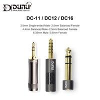 Dunu DC 12 DC 16 DC 11 3 5mm Stecker auf 2 5mm Weibliche 6 35 3 5/4 4 2 5 Stecker Adapter für Musik Player Ausgewogene kopfhörer AMP DAC|Kopfhörer-Zubehör|   -