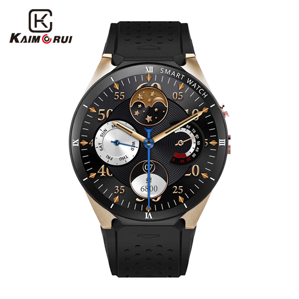 Kaimorui Smart Watch Android 7.0 KW88 Pro 3G Smartwatch Men MTK6580 SIM GPS WiFi 1GB+16GB Bluetooth Android Watch Smart Phone