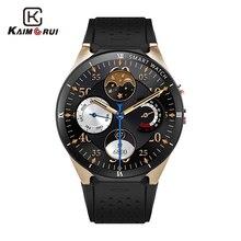 Купить с кэшбэком Kaimorui Smart Watch Android 7.0 KW88 Pro 3G Smartwatch Men MTK6580 SIM GPS WiFi 1GB+16GB Bluetooth Android Watch Smart Phone