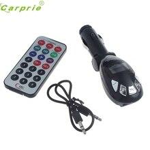 LCD Wireless FM Transmitter Car Kit MP3 Player Support USB SD MMC SlotAp1 Dependable Fashion